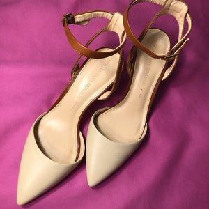 "Banana Republic - 3"" strappy heels"